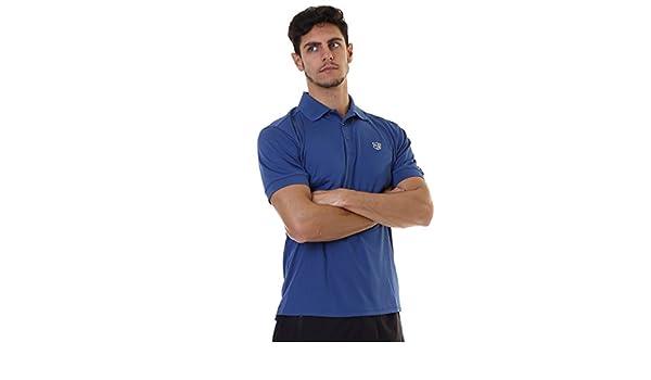 Wilson Staff Mens Authentic Polo (Dark Blue Talla S/M: Amazon.es ...