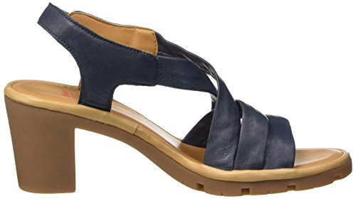 Azul para Flexible Mujer 7649538 Sandalias Blu 7wSnqgzR