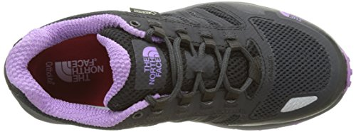 The North Face T92Y8VYYN. 7, Scarpe da Ginnastica Donna Grigio (Phantom Grey/Purple)
