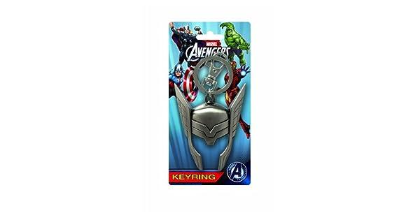 Amazon.com: Marvel Thor Casco estaño Llavero: Toys & Games