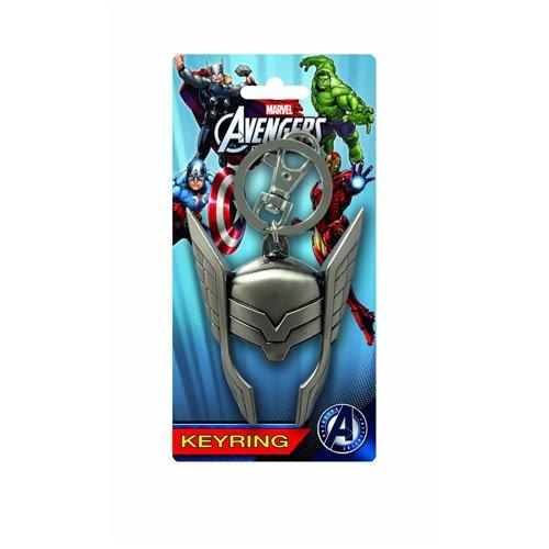 Marvel Thor Helmet Pewter Key Ring ()