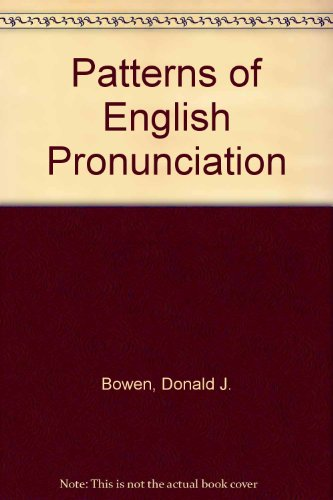 Patterns of English Pronunciation
