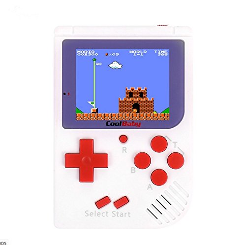 retro palmtop game kids and featured 129 built-in classic games, portable games, players, arcade game systems, children's birthday gifts