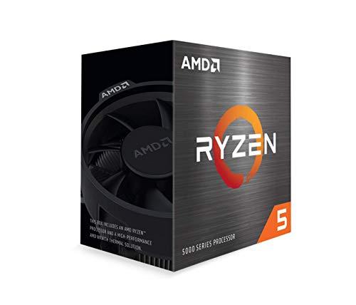 Processador AMD Ryzen 5 5600X (AM4/6 Cores/12 Threads/4.6GHz/35MB Cache/Wraith Stealth) *S/Vídeo*