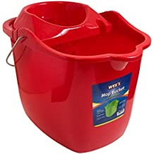 Wee's Beyond 1642-CL.Red Mop Bucket, 15 L