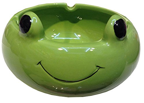 Multi Ceramics Cartoon Animal Ashtray Flowerpot Home Decor-Panda/Pig/Frog/Bear