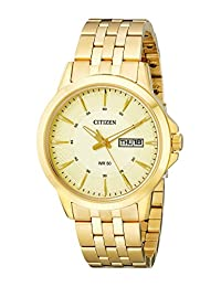 Citizen Men's BF2013-56P Gold-Tone Stainless Steel Bracelet Watch