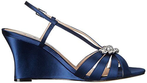 Nina Women's Viani Wedge Sandal New Navy G7Y4soxTcw