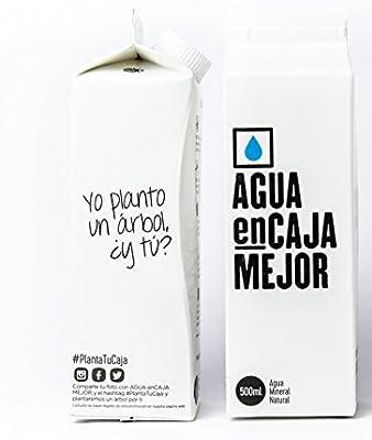 Agua enCaja Mejor Caja de 24 unidades de 500ml - Agua Mineral ...