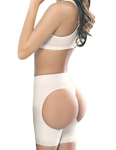 shaper Amalia Shapewear coscia Amalia donna per tono beige Pantaloncini culo e qCdwRq