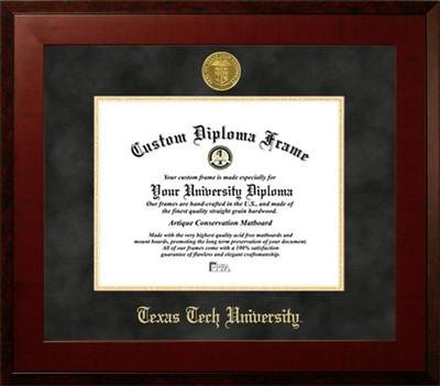 Texas Tech University Contemporary Diploma Frame