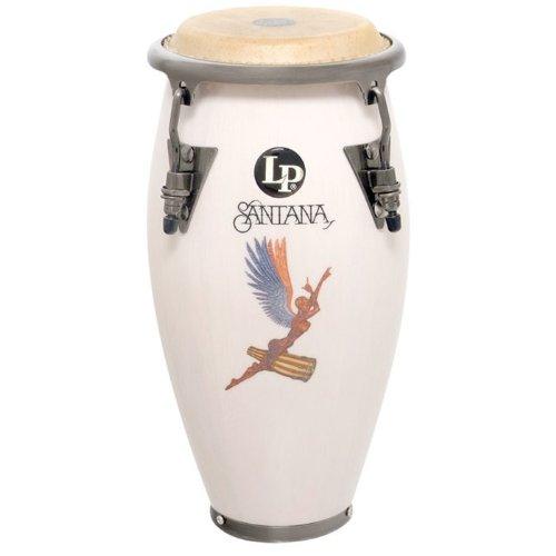 - Latin Percussion Santana Mini Conga, White