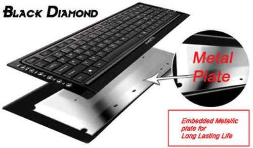 fa990e4a6e1 Amazon.in: Buy Amkette FSA303P Diamond Wireless Desktop Set (Black) Online  at Low Prices in India | Amkette Reviews & Ratings