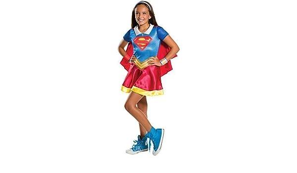 Fancy Me niña con Cuello Supergirl Superman Superhéroe Comic Día ...