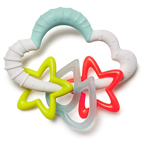 Skip Hop Silver Lining Cloud Rattle, Starry
