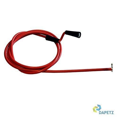 Dapetz ® 5M Drain Waste Pipe Sink Unblocker Rods Spring Tool Plug Hole With Hook