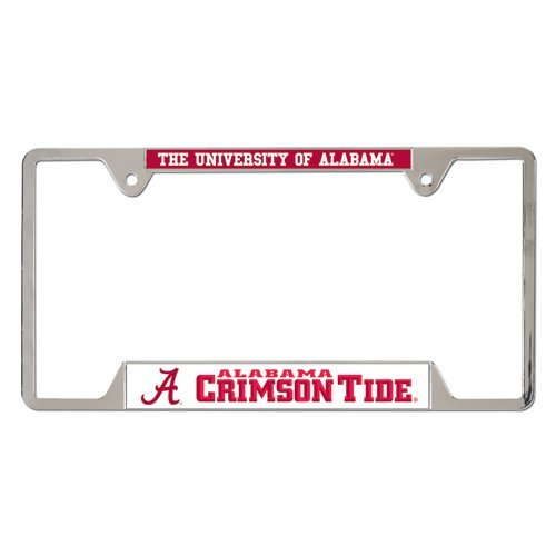WinCraft NCAA University of Alabama Metal License Plate Frame by WinCraft