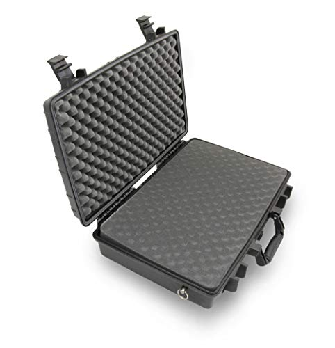 """CASEMATIX Studio Hard Case Compatible With Akai Professional MPK Mini MK2 controllers, Akai Professional MPX16 and More Akai Professional Controller Up to 16.5"""" – INCLUDES CASE ONLY"""
