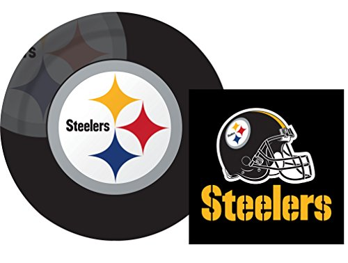 Pittsburgh Steelers Luncheon Napkins Plates