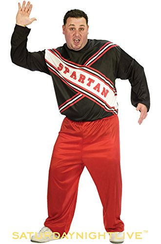 CHEERLEADER SPARTAN GUY PLUS (Couples Plus Size Halloween Costumes)