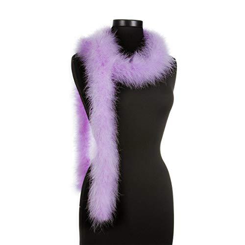- Lilac - Violet 25 Gram Marabou Feather Boas