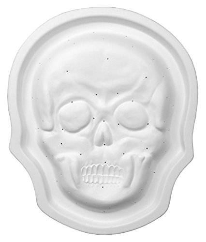 Mold Dish (Day Of The Dead Skull Dish - Fusible Glass Slumping Mold)