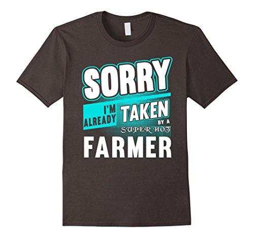 Mens Sorry I'm Already Taken By A Super Hot FARMER XL Asphalt