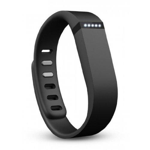 Fitbit Flex - Pulsera de actividad y sueño inalámbrica unisex (con indicador led y podómetro), color negro, talla S/L