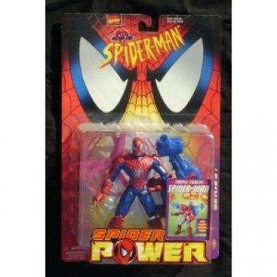 Spider-Man Triple Threat Spider-Man MOC Toy Biz 1998