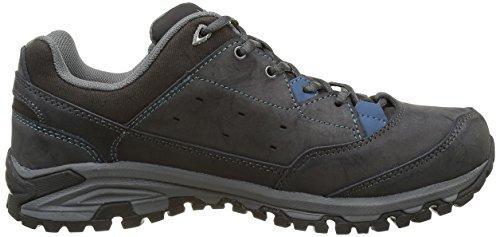 Lafuma M Aneto Low Cli, Zapatillas de Senderismo de Caucho Hombre Gris (asphalte)