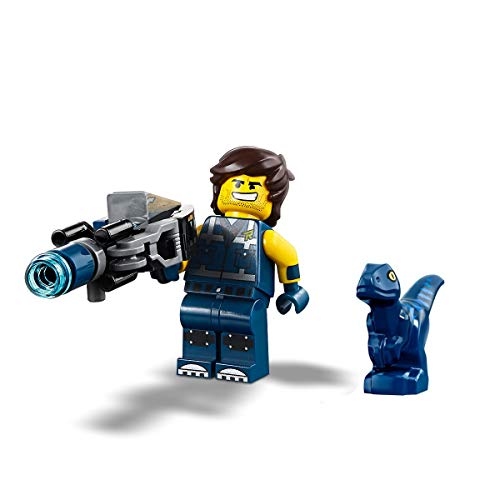 The LEGO Movie 2 MiniFigure - Rex Dangervest (with Blaster and Baby Dino) 70826