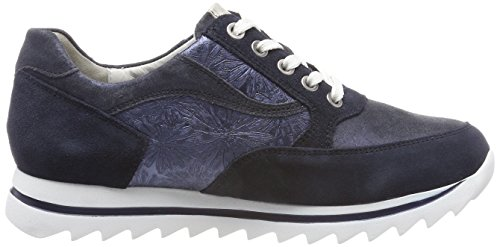 Skimmer Ladies Haiba Oxfords Blu (velour Glitter Margo Glit Deepblue Notte)