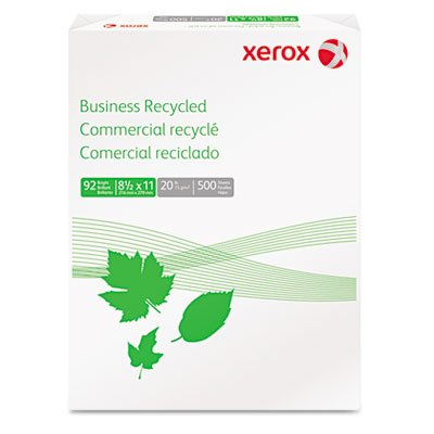 Xerox Multi-purpose White Papers,business Recycled, 20 Lb (75G/M2), 30% Post Con