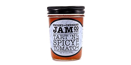 (Friend in Cheeses Jam Co. 8oz, Tart 'n Spicy Tomato Jelly)