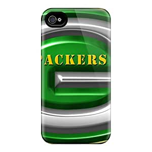Rugged Skin Cases Covers For Iphone 6- Eco-friendly Packaging(green Bay Packers)