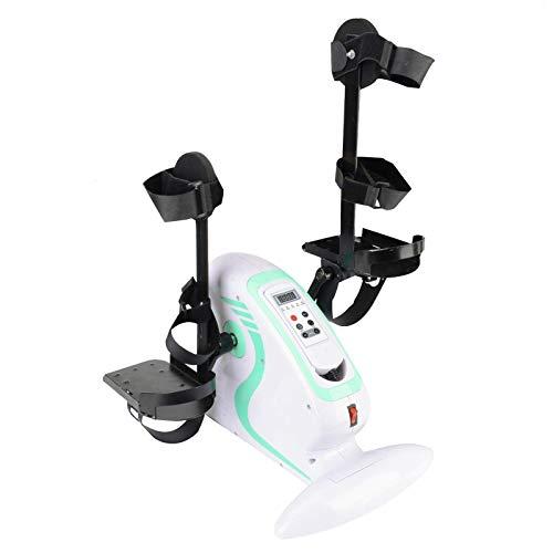 Pedal Exerciser, Electric Pedal Exerciser, Portable Fitness Exercise Bike, Arm & Leg Exercise Peddling Machine Fitness…