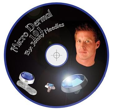 Micro Dermal DVD - Basics of Micro Dermal Punch and Piercing Needle Method PLUS MORE by Jonny Needles by USA