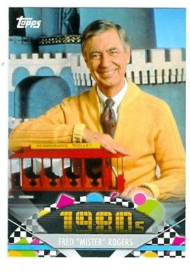 American Pie Card (Fred Rogers trading card (Mr Rogers Neighborhood) 2011 Topps American Pie #154)