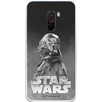 Carcasa Oficial Star Wars Darth Vader Negro Xiaomi Pocophone F1