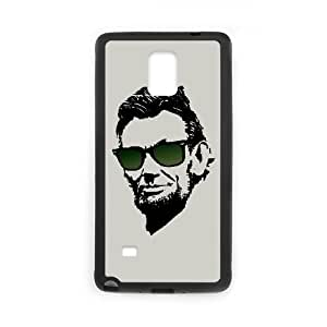 Samsung Galaxy Note 4 Cell Phone Case Black Cool Abe expy