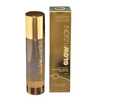 GlowFusion Micro-Nutrient Face and Body Natural Protein Tan, Light Formula, 5.0 Fluid Ounces (147.85ml) 033