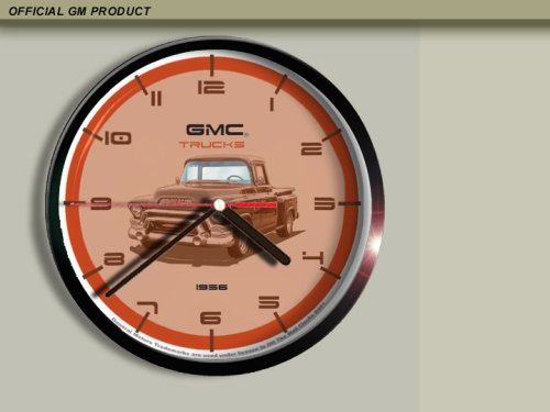 GM 1956 GMC Pickup Truck Wall Clock B001