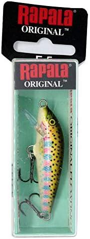 Rapala Original Floater 05 Fishing Lure (Fishing Lure (Rainbow Trout, Size- 2), Multi, One Size (F05RT)
