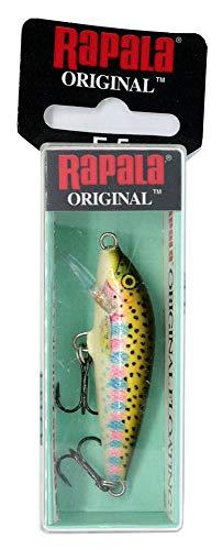 Rapala Original Floater 05 Fishing lure ( Fishing lure (Rainbow Trout, Size- 2)