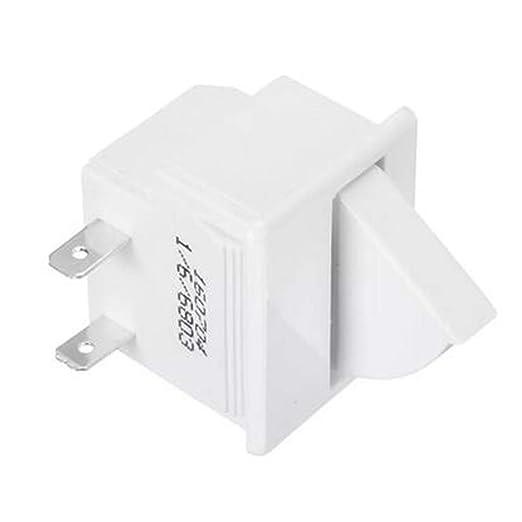 GOZAR 5A Ac 125V 2Pin Refrigerador Puerta Lámpara Luz Interruptor ...