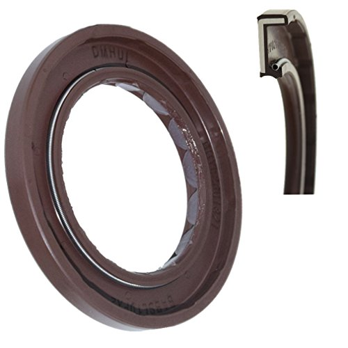 Radial Shaft Seal VITON Rubber Rotary Shaft Seal 40x62x6mm Replacement Seal for Hydraulic Pump and Motor, BAFSL1SF Type Pressure Mechanical Seal by DMHUI