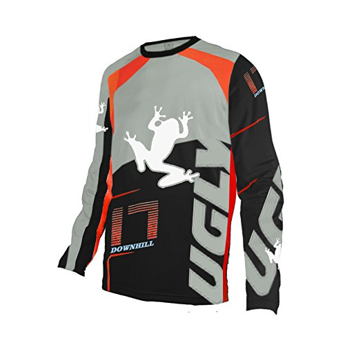 Uglyfrog Racewear Long Sleeve Downhill Jersey DH/AM/XC/FR/MTB/BMX/Moto/Enduro/Offroad Cycling Mountain Bike - Off Road Cycling Sock