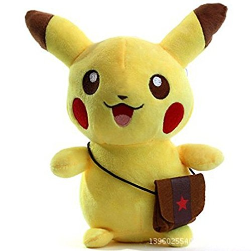 Stuffed Pikachu - Plush Animal That's Suitable For Babies and Children - Perfect Birthday Gifts - Toy Doll for Baby, Kids and Toddlers