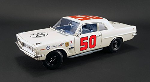 1963 Pontiac Tempest 1963 Daytona Challenge Cup Champion #50 Paul Goldsmith with Signed Certificate Limited Edition to 330pcs 1/18 by Acme A1805901S