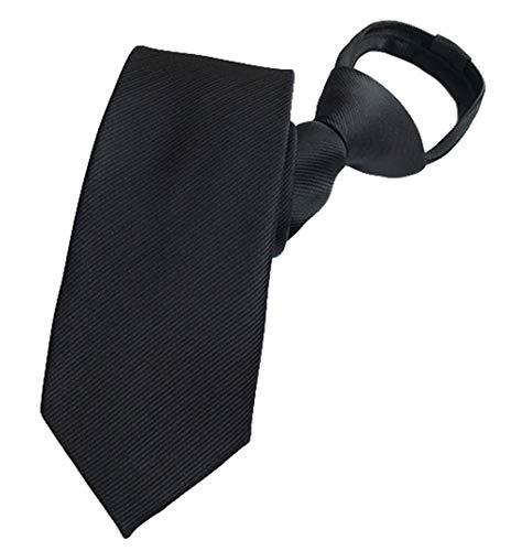MENDENG Men Black White Plaid Checks Pre-tied Bow Tie Silk Adjustable Party Ties